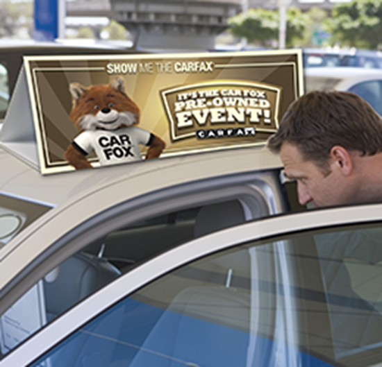 Picture of CAR FOX Event Car Toppers