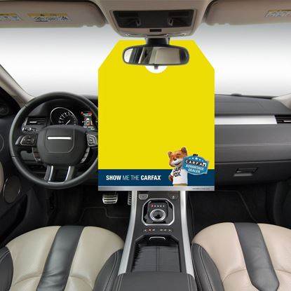 Picture of Yellow Advantage Hang Tag